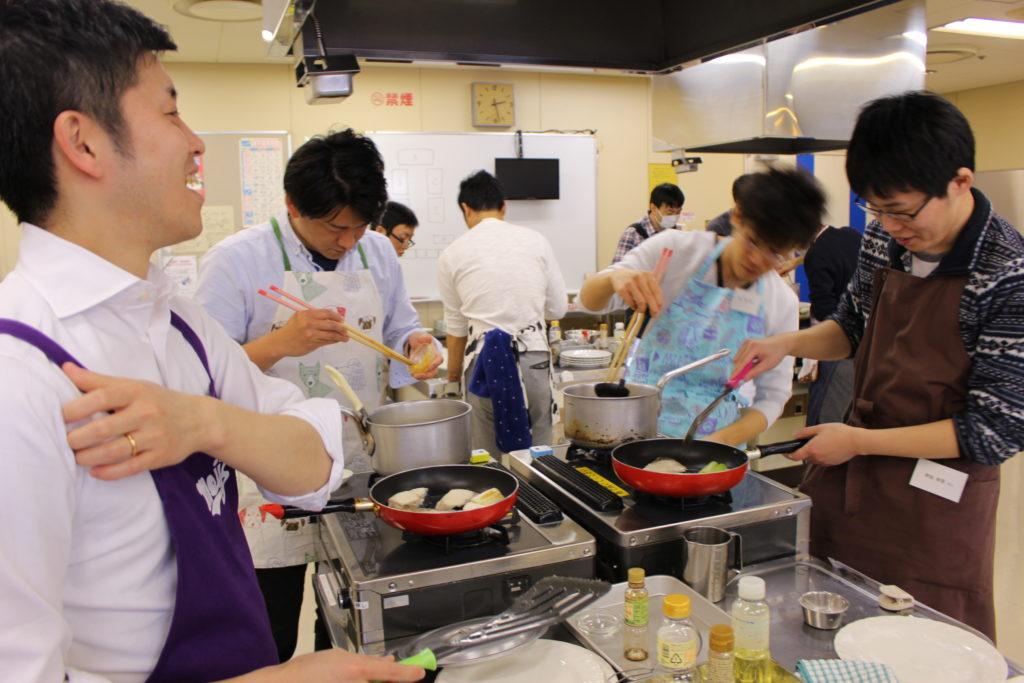 男性料理教室 メンズキッチン