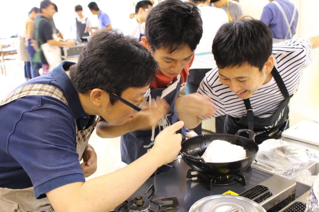 男子限定料理教室メンズキッチン