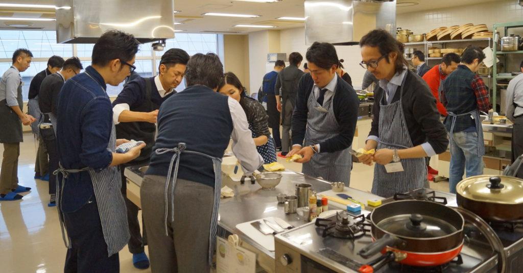 健康経営料理教室 メンズキッチン